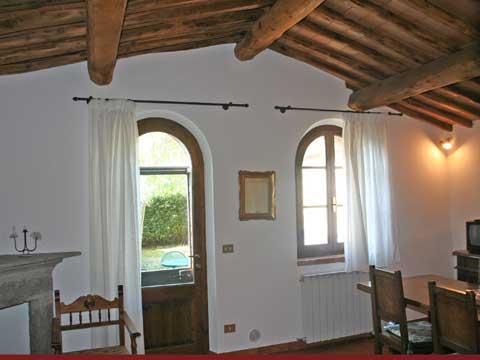 Bilder von Chianti Ferienwohnung Borgo_2_Castelnuovo_Berardenga_31_Wohnraum