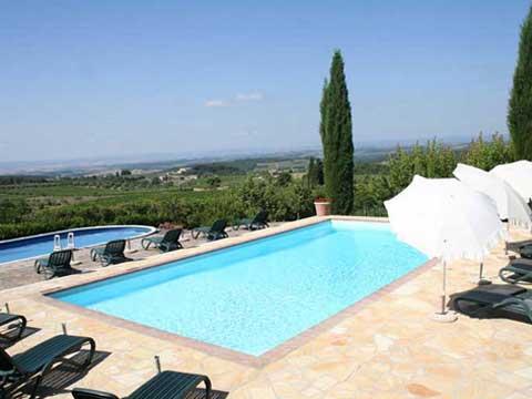 Bilder von Chianti Ferienwohnung Borgo_3_Castelnuovo_Berardenga_15_Pool