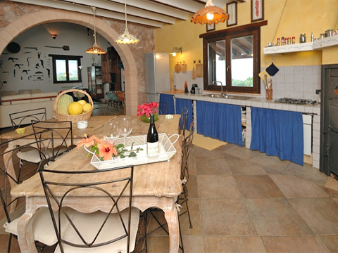 Bilder von Sicily North Coast Holiday home Campagna_66__35_Kueche
