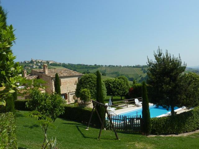 Bilder von Adriatische Zee Villa Casa_Daniele_Monte_Rinaldo_10_Balkon
