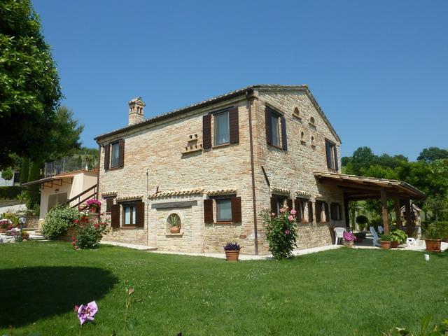 Bilder von Adriatische Zee Villa Casa_Daniele_Monte_Rinaldo_55_Haus