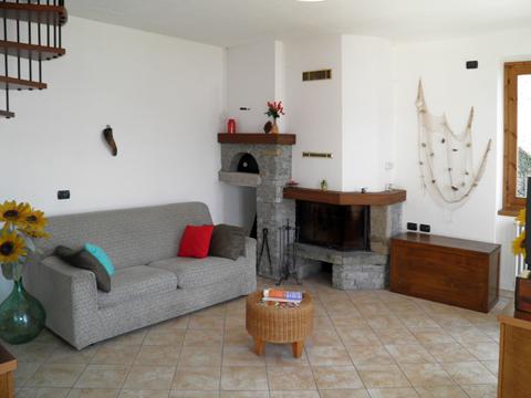 Bilder von Comer See Ferienhaus Casa_Dongo_30_Wohnraum