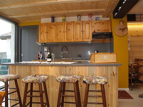 Bilder von Comer See Ferienhaus Cavilla_Villa_di_Tirano_36_Kueche