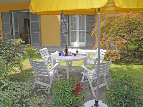 Bilder von Lago di Como Appartamento Cedro_103_Domaso_10_Balkon