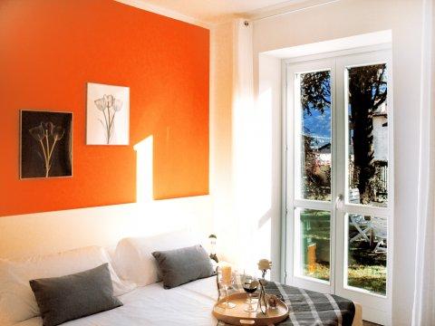 Bilder von Lago di Como Appartamento Cedro_103_Domaso_40_Doppelbett-Schlafzimmer