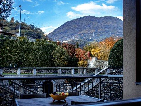 Bilder von Comer See Ferienwohnung Cedro_205__Domaso_25_Panorama