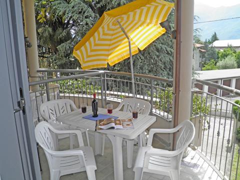 Bilder von Comer See Ferienwohnung Cedro_206_Domaso_10_Balkon