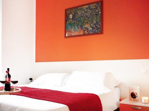 Bilder von Comer See Ferienwohnung Cedro_206_Domaso_40_Doppelbett-Schlafzimmer