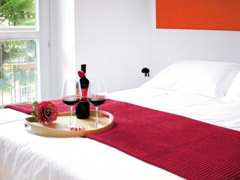 Bilder von Lago di Como Appartamento Cedro_206_Domaso_41_Doppelbett