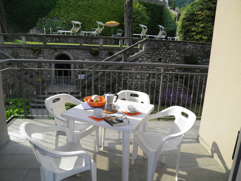 Bilder von Comer See Ferienwohnung Cedro_208_Domaso_11_Terrasse