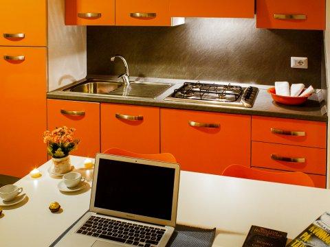Bilder von Lake Como Apartment Cedro_208_Domaso_35_Kueche