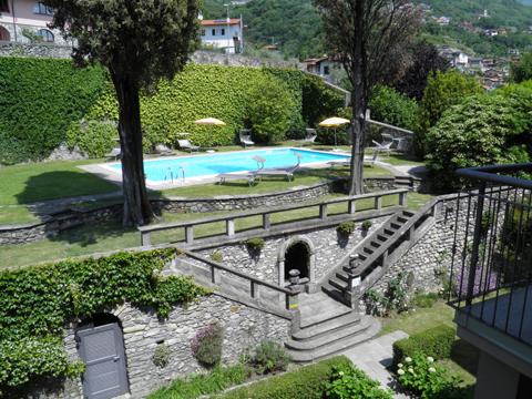 Bilder von Comer See Ferienwohnung Cedro_309_Domaso_20_Garten