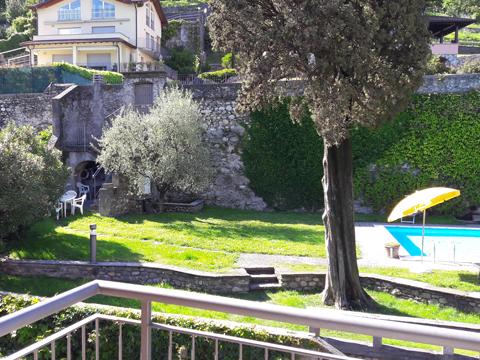 Bilder von Comer See Ferienwohnung Cedro_309_Domaso_21_Garten