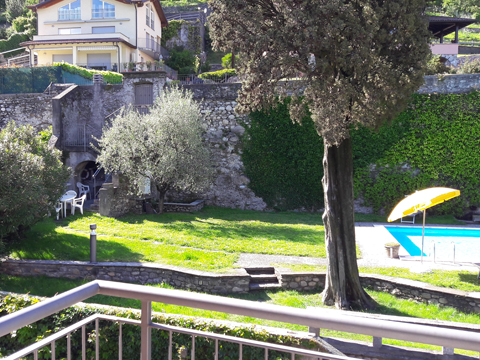 Bilder von Lago di Como Appartamento Cedro_309_Domaso_21_Garten