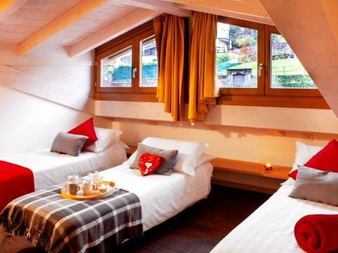 Bilder von Lago di Como Appartamento Cedro_309_Domaso_45_Schlafraum
