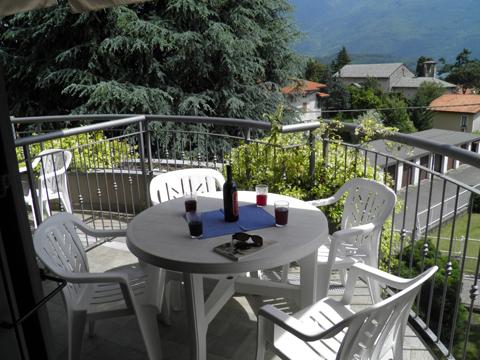 Bilder von Comer See Ferienwohnung Cedro_310_Domaso_10_Balkon