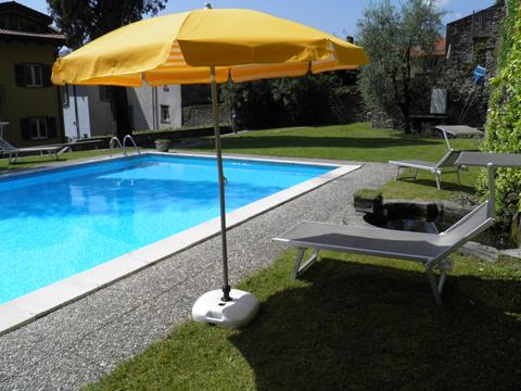 Bilder von Comer See Ferienwohnung Cedro_310_Domaso_16_Pool