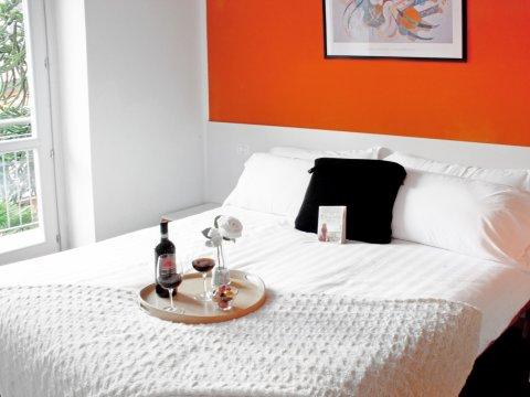 Bilder von Comer See Ferienwohnung Cedro_310_Domaso_40_Doppelbett-Schlafzimmer