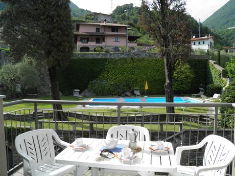 Bilder von Comer See Ferienwohnung Cedro_312_Domaso_10_Balkon