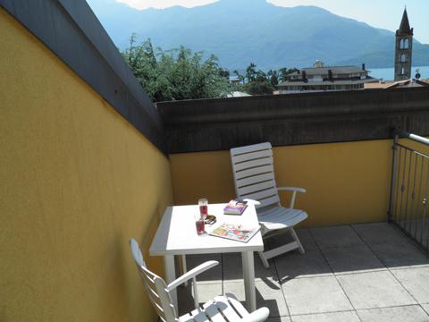 Bilder von Comer See Ferienwohnung Cedro_312_Domaso_11_Terrasse
