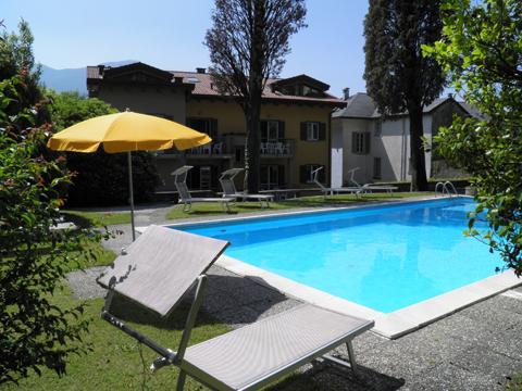 Bilder von Comer See Ferienwohnung Cedro_312_Domaso_16_Pool