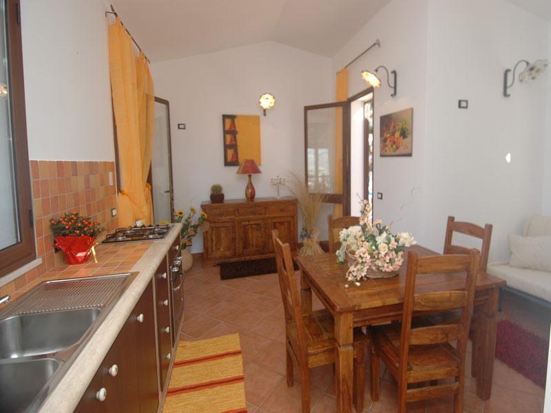 Bilder von Sizilien Nordküste Ferienhaus Clarissa_Castellammare_del_Golfo_36_Kueche