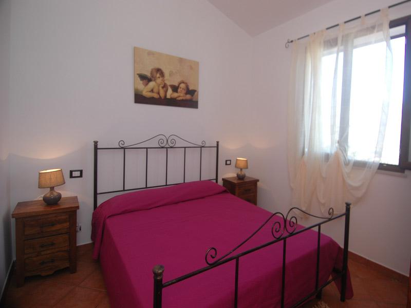 Bilder von Sizilien Nordküste Ferienhaus Clarissa_Castellammare_del_Golfo_40_DoppelbettSchlafzimmer
