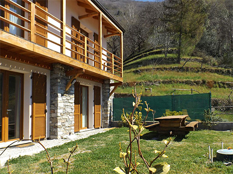 Bilder von Lake Como Holiday home Collina_Bellano_21_Garten