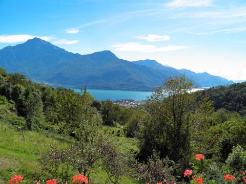 Bilder von Comer See Ferienwohnung Dalida_Secondo_Gravedona_25_Panorama