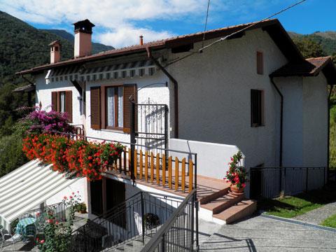 Bilder von Comer See Ferienwohnung Dalida_Secondo_Gravedona_55_Haus