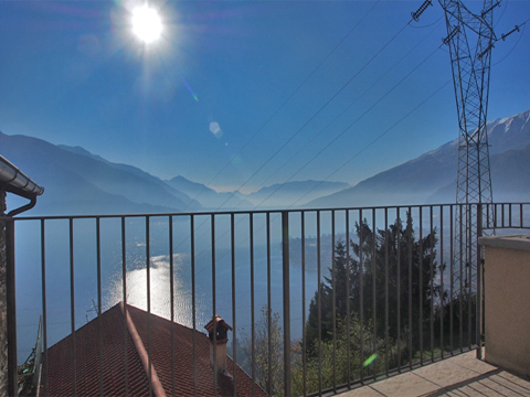 Bilder von Comer See Ferienwohnung Degli_Angeli_San_Carlo_10_Balkon