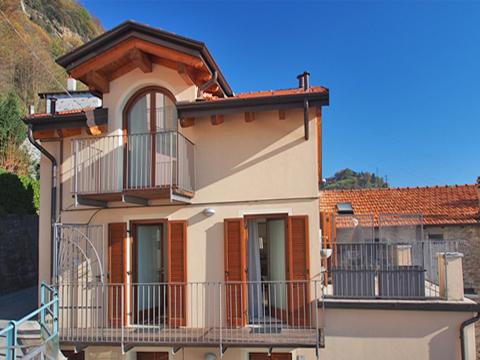 Bilder von Comer See Ferienwohnung Degli_Angeli_San_Carlo_55_Haus