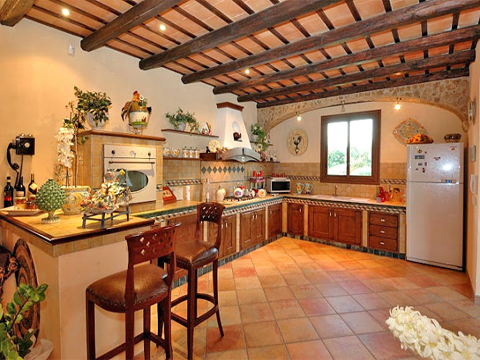 Bilder von Sizilien Südküste Villa Del_Parco_56__35_Kueche