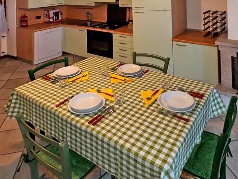 Bilder von Comer See Ferienwohnung Del_Pescatore_Colonno_35_Kueche