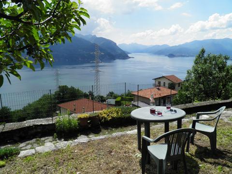 Bilder von Comer See Ferienhaus Dina_Rezzonico_26_Panorama