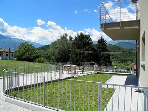 Bilder von Comer See Ferienwohnung Diva_Colico_20_Garten