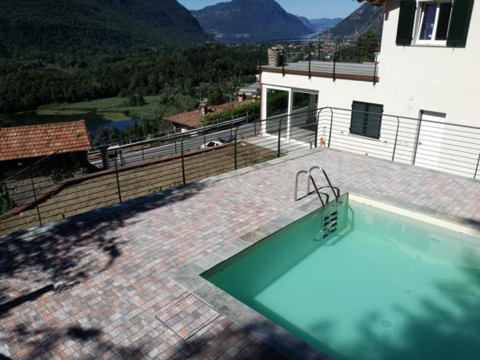Bilder von Lake Como Apartment Dolce_Vita_Carlazzo_15_Pool