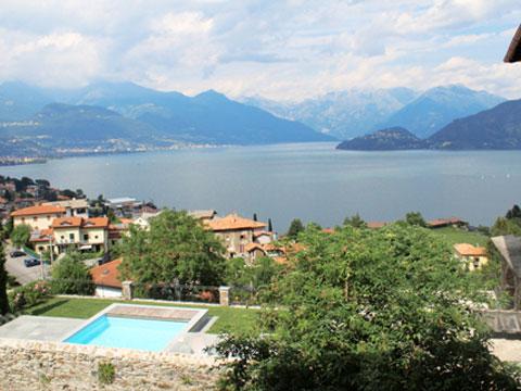 Bilder von Comer See Ferienwohnung Elena_Pianello_del_Lario_25_Panorama