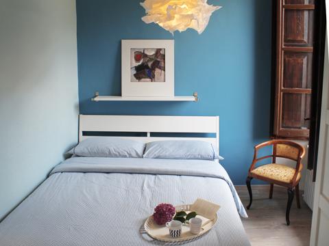 Bilder von Comer See Ferienwohnung Elena_Pianello_del_Lario_40_Doppelbett-Schlafzimmer