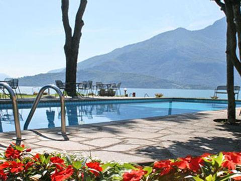 Bilder von Comer See Ferienwohnung Fantastico_Domaso_15_Pool