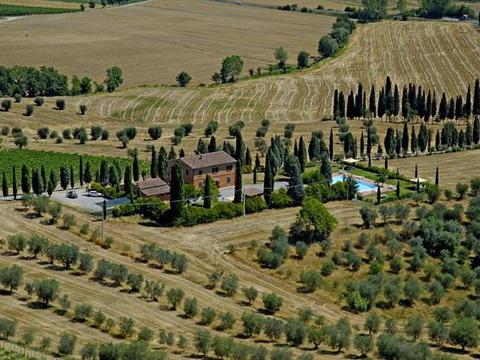 Bilder von Florence Country house Frantoio_Montepulciano_25_Panorama