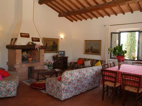 Bilder von Florenz Landhaus Frantoio_Montepulciano_30_Wohnraum