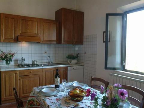 Bilder von Florenz Landhaus Frantoio_Montepulciano_35_Kueche