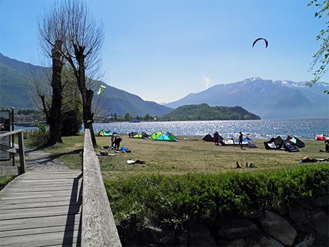 Bilder von Comer See Ferienwohnung Giardino_Primo_Colico_65_Strand