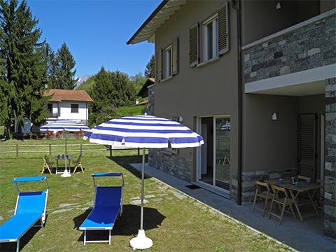 Bilder von Lake Como Apartment Giardino_Secondo_Colico_21_Garten