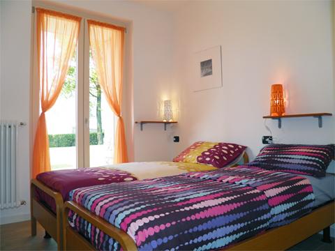 Bilder von Comer See Ferienwohnung Giardino_Secondo_Colico_40_Doppelbett-Schlafzimmer