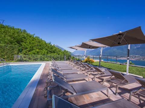 Bilder von Comer See Ferienwohnung Giardino_del_Sole_Vercana_15_Pool