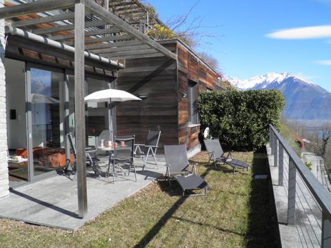 Bilder von Comer See Ferienwohnung Giardino_del_Sole_Vercana_20_Garten