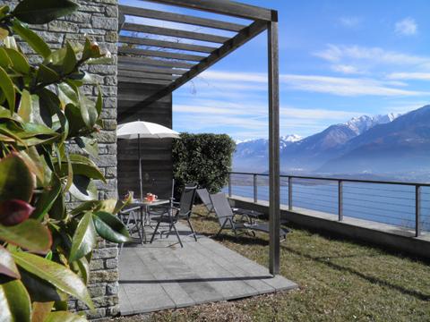 Bilder von Comer See Ferienwohnung Giardino_del_Sole_Vercana_60_Landschaft