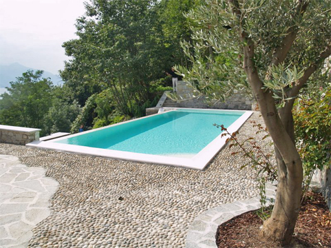 Bilder Apartment Giglio_Giallo_Gravedona_15_Pool Lake Como / Lombardy